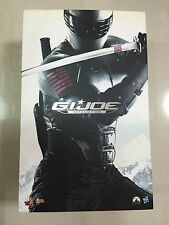 Hot Toys MMS 192 G.I. Joe Retaliation Snake Eyes Military Ninja Figure NEW