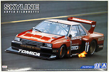 Aoshima 51627 The Model Car 11 NISSAN KDR30 Skyline Super Silhouette '82 1/24