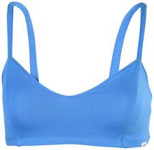 VANS LADIES APRIL BRALETTE BITTERSWEET bra top L LG BLUE BUSTIER WOMENS NEW NWT