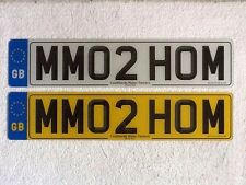MM02HOM --- MOTORHOME Camper Van Cherished Registration Number