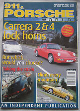 911 & Porsche World magazine 09/2002 featuring Carrera, 914, 912, 924