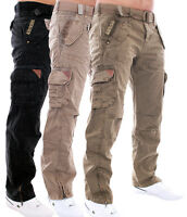 GEOGRAPHICAL NORWAY HERREN HOSE FREIZEIT TROUSERS CARGO HOSE ARMY HOSE