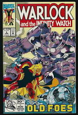 WARLOCK AND THE INFINITY WATCH US MARVEL VOL.1 # 5/'92