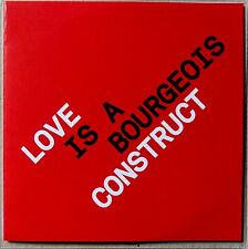 PET SHOP BOYS * LOVE IS A BOURGEOIS CONSTRUCT * UK 7 TRK PROMO * TENNANT * LOWE