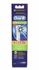 10x Oral-B 8+2 Replacement Electric Tooth Brush Heads For Pro TriZone Vitality