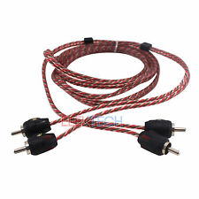 Stinger SI426 RCA Interconnect Audio Cable 2 Channels 6 ft 4000 Series Stereo