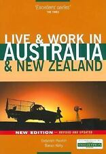 Live & Work in Australia & New Zealand, 4th (Live & Work - Vacation Work Public