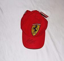 Michael Schumacher AUTOGRAFATO FERRARI f1 Cap W/Coa