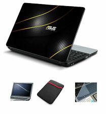 Laptop Accessories Combo 4 in 1 Asus (Skin+Sleeve+Screen+Key Guard)