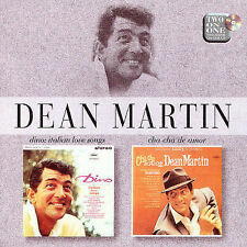 Dino! Italian Love Songs/Cha-Cha de Amor by Dean Martin (CD, Jan-1997, Emi)