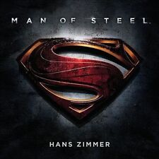 Man of Steel [Original Motion Picture Soundtrack] (CD, Jun-2013, 2 Discs,...