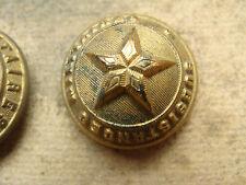 BOUTON  uniforme  officier subsistances militaire  mod 1845  doré 21mm