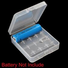 Hot Portable Hard Plastic Battery Case Holder Storage Box for 4x18650 Batteries