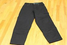 SCANDIA WOODS FLANNEL LINING JEANS SIZE 30 M  INSEAM  30  5 POCKET NEW WITH TAGS