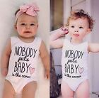 Newborn Baby Girls Infant Rompers Bodysuit Playsuit Clothes Outfits 0-24M