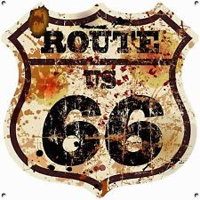 ROUTE 66, COLLECTABLE, ENAMEL, METAL,SIGN,363