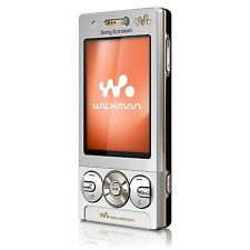Sony Ericsson W705 Silver Mobile Phone