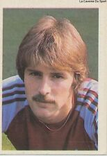 N°273 VAN DER ELST # BELGIQUE WEST HAM UNITED LEAGUE 1984 PLUBLISHERS STICKER