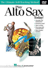 Learn How To Play The Alto Saxophone Sax DVD Beginner EASY Read Music Lesson
