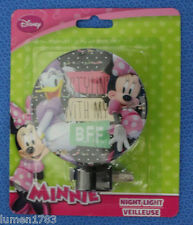 DISNEY MINNIE MOUSE DAISY DUCK STYLIN' WITH MY B.F.F. NIGHT LIGHT ROTARY SHADE