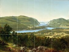 VIEW FROM GARRISON, WEST POINT Tile Mural Kitchen Bathroom Wall Backsplash 24x18