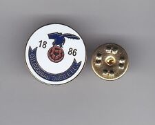 Inverness Caledonian Thistle - lapel badge No.1 butterfly fitting