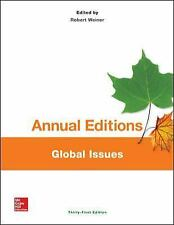 Annual Editions: Global Issues, 31st Ed by Weiner (2015, Paperback)