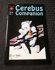 1993 CEREBUS COMPANION #1 VF Dave Sim Win Mill Productions
