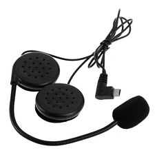 Interphone Intercom avec Écouteur Bluetooth Microphone Mini USB pour Moto Quad