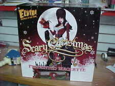 ELVIRA TWEETERHEAD Scary Christmas Maquette Statue NEW $264 Sideshow FREE SHIP