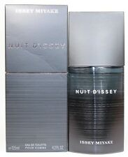 Nuit D'Issey By Issey Miyake 4.2oz./125ml Edt Spray For Men New In Box