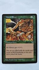 1x MUSCLE SLIVER - Rare - Tempest - MTG - NM - Magic the Gathering