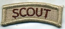US Army Scout DCU Desert Tan Patch Tab