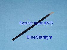 100 disposable fine tip eyeliner eye liner brush Taklon animal free #513-1