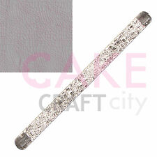 Crocodile Skin Texture Embossing Acrylic Rolling Pin sugarcraft cake decorating