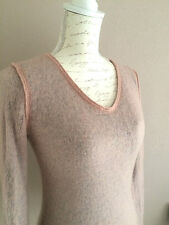 MARC O'POLO zarter Luxus Pullover Mohair Wolle Mix puderrosa XS 34 NP 139,90