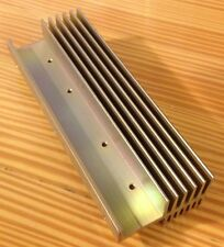 "Aluminum Heat Sink for LEDs/Power ICs/Transistors 5""x2""x1"" NOS Heatsink 'L'"