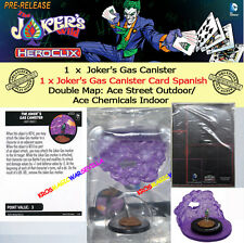 DC COMICS HEROCLIX JOKER'S WILD OP KIT SPANISH CARD DOUBLE MAP - Gas Canister