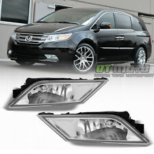 2011-2013 Honda Odyssey Bumper Driving Fog Lights Lamps+Switch 11-13 Left+Right