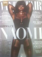 NAOMI CAMPBELL VANITY FAIR MAGAZINE ITALY NOVEMBER 2015 JUSTIN BIEBER NEW
