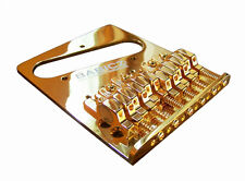 Babicz Full Contact Hardware Guitar Bridge for Telecaster, GOLD