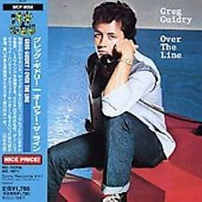 GREG GUIDRY-Over the line               JAPAN-IMPORT CD