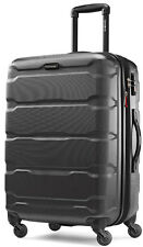 "Samsonite Omni 24"" Hardside Spinner Expandable Upright Luggage - Black"