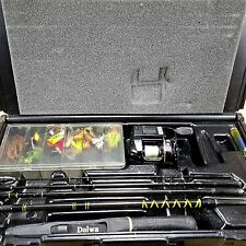 Daiwa Seiko Executive Travel Pack Rod & Reel Microcomputer Depth Casting Set Vtg