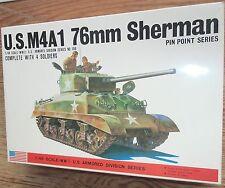 Bandai: 1/48 U.S.M4 A1 76mm Sherman, Bausatz