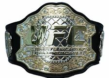 UFC Limited Edition World Championship Adult Size Metal Plates Replica Belt