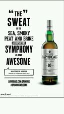"Laphroaig ""symphony""poster 18 by 26"