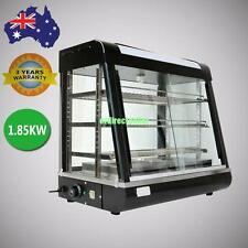1.85KW Hot Food Pie Warmer Display Cabinet Showcase Temperature 30°C-110°C