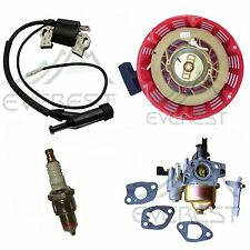 TUNE UP KIT FOR HONDA GX110 GX120 RECOIL CARBURETOR IGNITION COIL SPARK PLUG KIT
