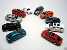 B51 N - 50 Autos PKWs BMW Mercedes Opel ca. 1:150 Set